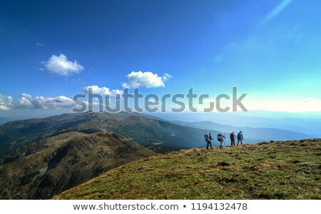 Mountain hike in the Ukrainian Carpathians Stock photo © Kotenko