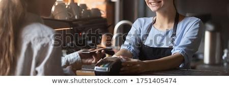Pagamento bandeira transferência de dinheiro financeiro serviços Foto stock © RAStudio