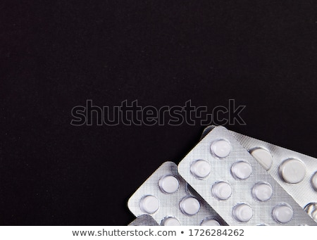 коронавирус эпидемия аптека черный таблетки шприц Сток-фото © Illia