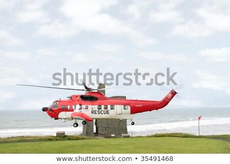 Ratowania morza pojazd gotowy plaży zespołu Zdjęcia stock © morrbyte