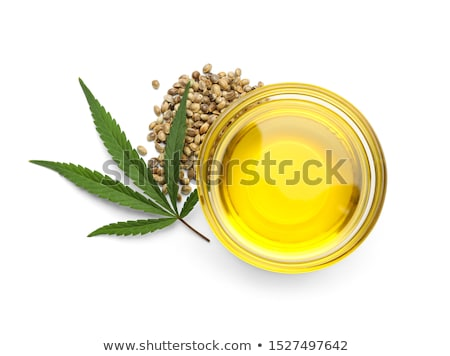 cannabis isolated on white Stock photo © ozaiachin