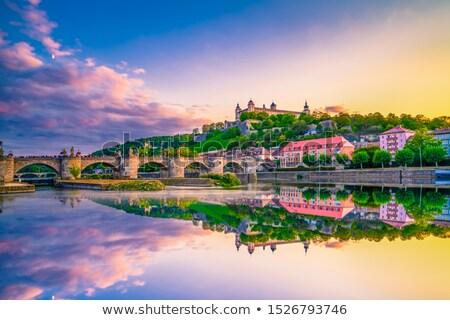 крепость Германия здании путешествия архитектура Европа Сток-фото © phbcz