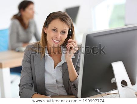 美しい 国際ビジネス 女性 ヘッド 笑みを浮かべて 顔 ストックフォト © wavebreak_media