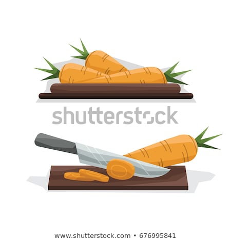 chef cutting carrots stock photo © photography33