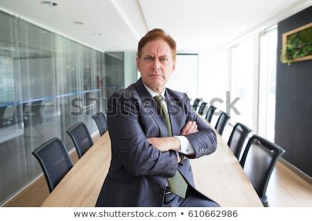 Stern businessman Stock photo © photography33