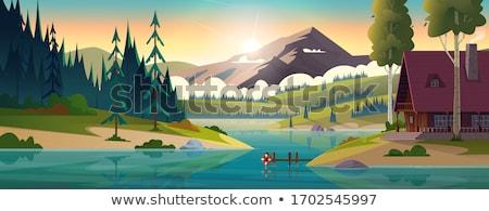 Summer in the Rockies Stock photo © Kotenko