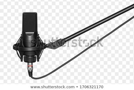 Microphone Isolated Stock photo © Lightsource