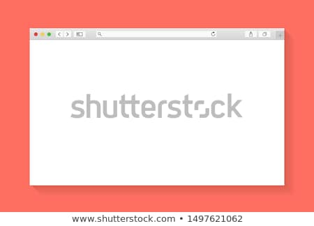 internet browser window on a computer screen Stock photo © alexmillos