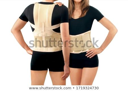 Korset illustratie sexy ontwerp zwarte ondersteuning Stockfoto © lenm