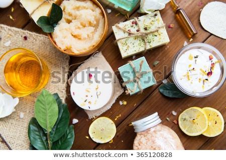 Aroma wellness cosmetische schoonheid objecten macro Stockfoto © juniart