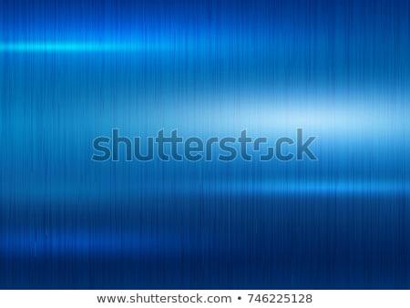Blue metal background Stock photo © shawlinmohd