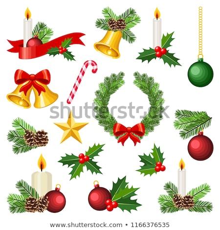 christmas decoration set Stock photo © FOKA
