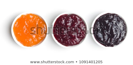 berries and orange bowl Stock photo © elvinstar