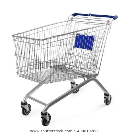 Empty Shopping Cart Trolley Stock photo © stevanovicigor
