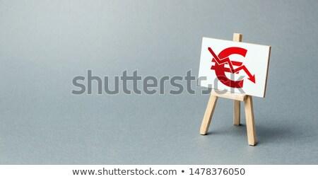 Euro követelés árnyék csoport kezek ki Stock fotó © Lightsource