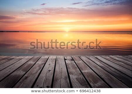 Sunset Over a Cloudy Atlantic Stock photo © arenacreative