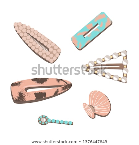 Model hair fashion vector illustration clip-art  Stock photo © vectorworks51