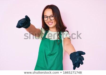 чистого руки из жест дружественный Сток-фото © RAStudio