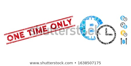 one time offer icon flat design stock photo © wad