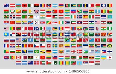 Emblema país símbolo preto forma Foto stock © tony4urban