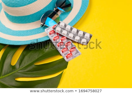 Traveling pills. Stock photo © Fisher
