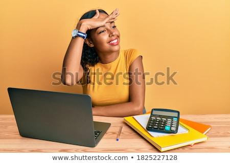 女性 · 電卓 · 金融 · 人 · コンセプト - ストックフォト © monkey_business