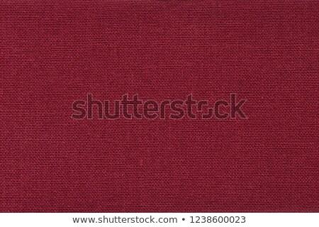 piros · vászon · textúra · közelkép · kilátás · szövet - stock fotó © lightfieldstudios