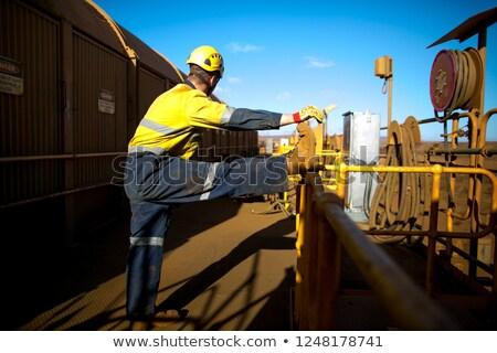 helmet construction worker woman Sports & exercise Stock photo © toyotoyo
