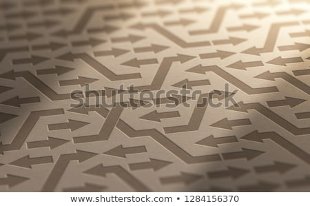 Psychology, Disorganization or Incoherence Concept Stock photo © olivier_le_moal