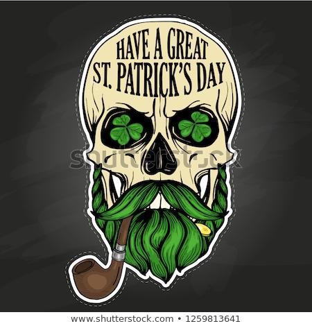 Lettring for Saint Patricks Day Stock photo © netkov1
