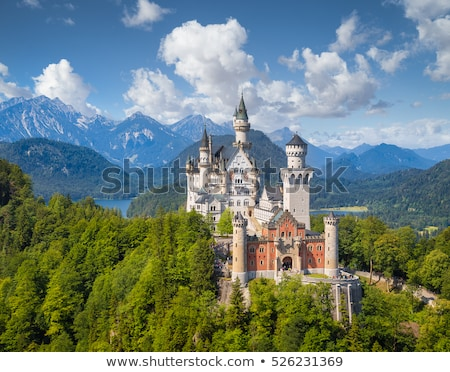 Альпы Германия пейзаж долины природы горные Сток-фото © borisb17