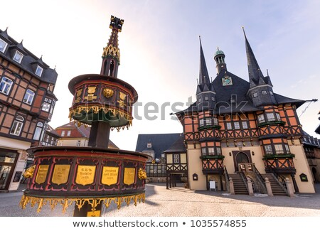 Mairie une monuments architecture Allemagne symbole Photo stock © borisb17