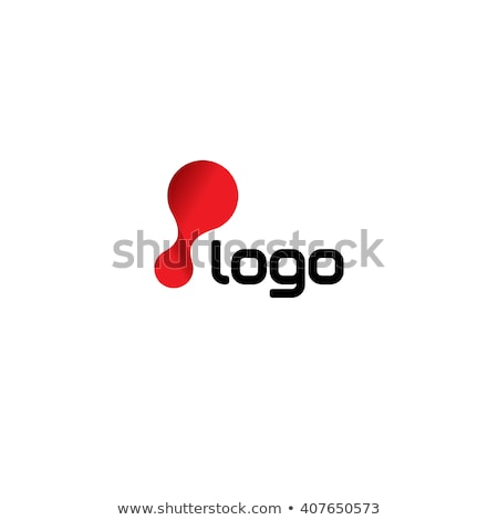 Laboratory technology chemistry or biology flex logo template. Abstract molecular flexible logotype. Stock photo © kyryloff