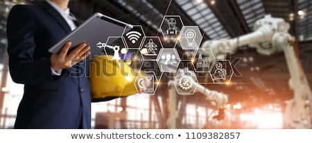Business person with operational concept Stock photo © ra2studio