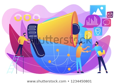 Marketing techniques vector concept metaphors Stock photo © RAStudio