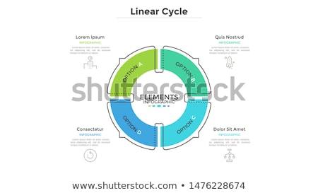 digital · marketing · fino · linha · modelo · de · design · ícones - foto stock © sarts