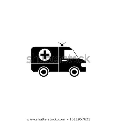 Pielęgniarki sanitariusz ikona wektora ilustracja Zdjęcia stock © pikepicture