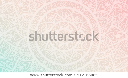 Mandala patronen geïsoleerd illustratie abstract natuur Stockfoto © bluering