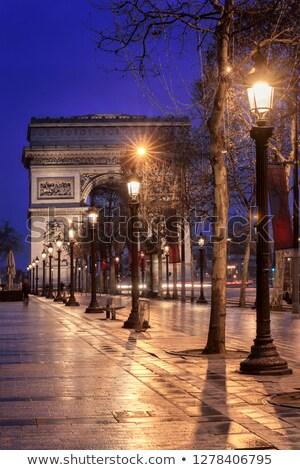 Arch of Triumph, Paris, France Stock photo © ShustrikS