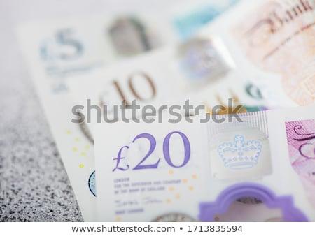 Vinte moeda luz economia crise Foto stock © DenisMArt
