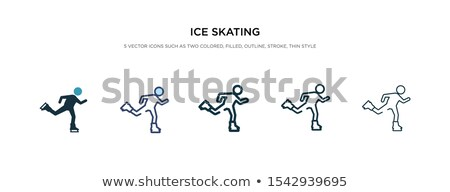 氷 色 ベクトル アイコン ストックフォト © ayaxmr