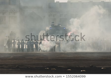 Violent Protests Stock photo © Lightsource