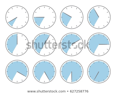 alarm clock with times 12 clock stock photo © vladacanon