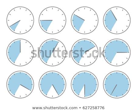 Stock photo: alarm clock with times 12 clock