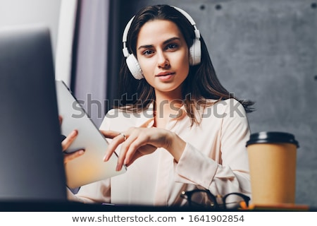 Young People Watching Streaming Videos  Stock photo © AndreyPopov