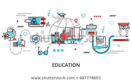 Professional programming abstract concept vector illustrations. Stock photo © RAStudio