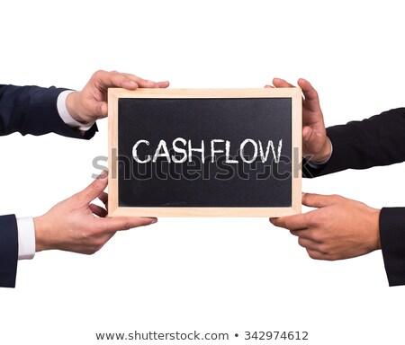 success flow chart on a blackboard 2 stock photo © ivelin