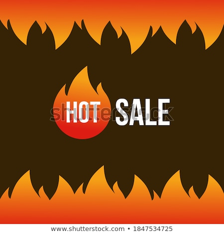 Hot sale artwork with big flame Stock photo © orson