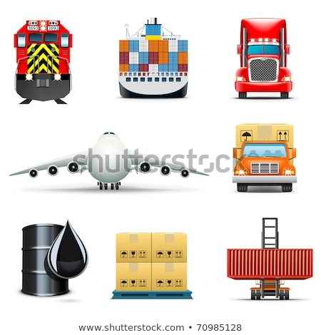 transportation icons marine series stock photo © sahua