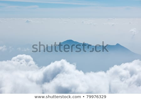 Mountains in clouds. Kodaikanal, Tamil Nadu stock photo © dmitry_rukhlenko